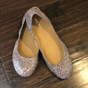 Nine West Flats -Size 9